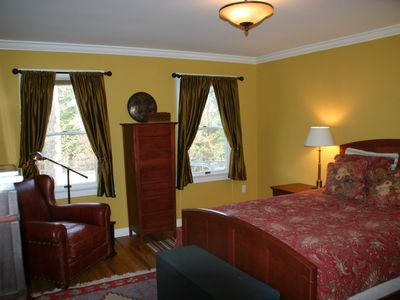 Downstairs master bedroom