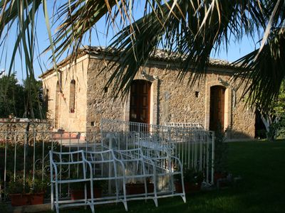 Niscemi: HOUSE OF VIGNERE - Rustic Sicilian Villa with a large park in the countryside - a Mansion