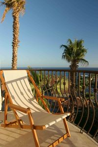 Cabo San Lucas villa rental - Sunny patio seating