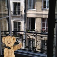 Bonjour!  Enjoying this charming apartment in a lovely Paris neighborhood!