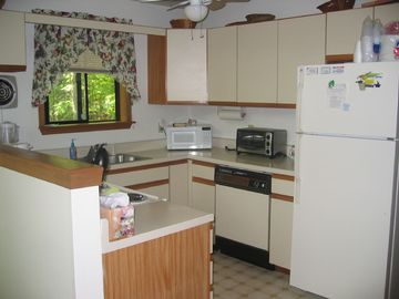 Kitchen with new appliances