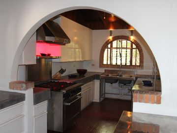 Professional Kitchen at Casa de la Playa Vacation Home, Flamingo, Costa Rica