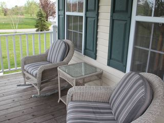 New Paltz house photo - Front porch with rocking chairs