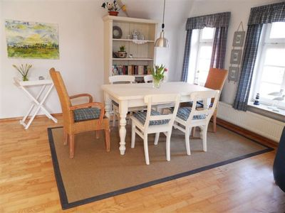 Comfortable, tastefully furnished apartment at the port of Greetsiel, 90 sqm