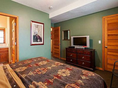 All bedrooms feature 42inch plasma TVs with DVD players and walk-in closets