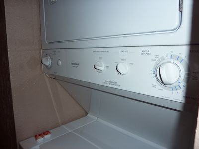 Washer & dryer in condo unit