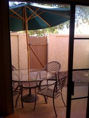 Chandler townhome photo - Private patio