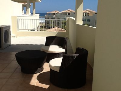 Isabela apartment rental - Terrace/patio on the second floor