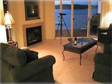 Osage Beach condo rental - A 'Grand View' from the living room.