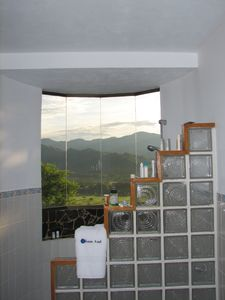 Terraza Private Bath - Private shower with a view!