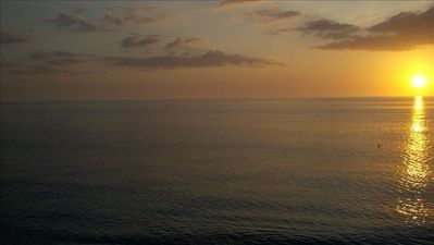 Clearwater Beach condo rental - We watch the sunset most every night. Taken from our balcony.