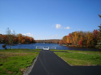 view from the Island recreation area