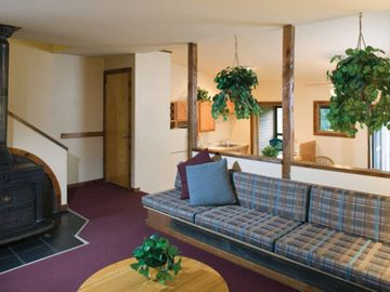 Living Room at the Shawnee Village Resort