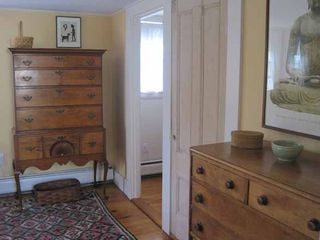 Truro house photo - Master bedroom with antique highboy