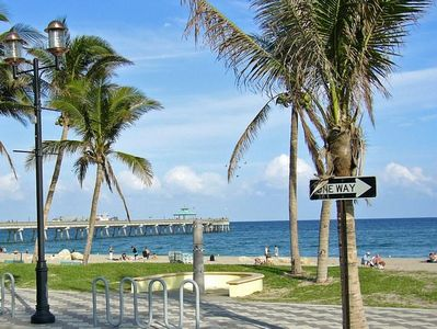 Deerfield Beach condo rental - Ocean is steps away