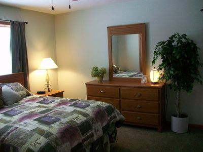 Boyne City house rental - Master Bedroom