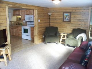 Estes Park cabin photo - Living Room in large cabin