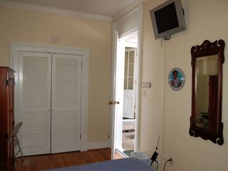 New Orleans condo photo - .flat screen TV and Liberace Clock