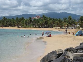 Luquillo villa photo - Playa Azul Beach just steps from the Villa