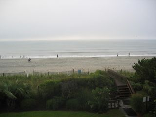 Long Bay Dunes condo photo - View from the Balcony on a summer morning