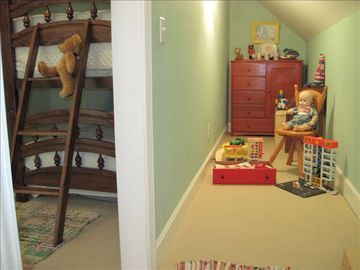 Third Bedroom & Secret Toy Room