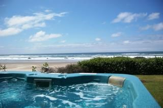 Oceanfront with Hot Tub! -