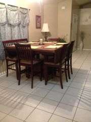 Palm Bay house photo - New kitchen table with seating for 6-8.