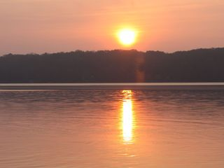 Bantam Lake house photo - morning sunrise