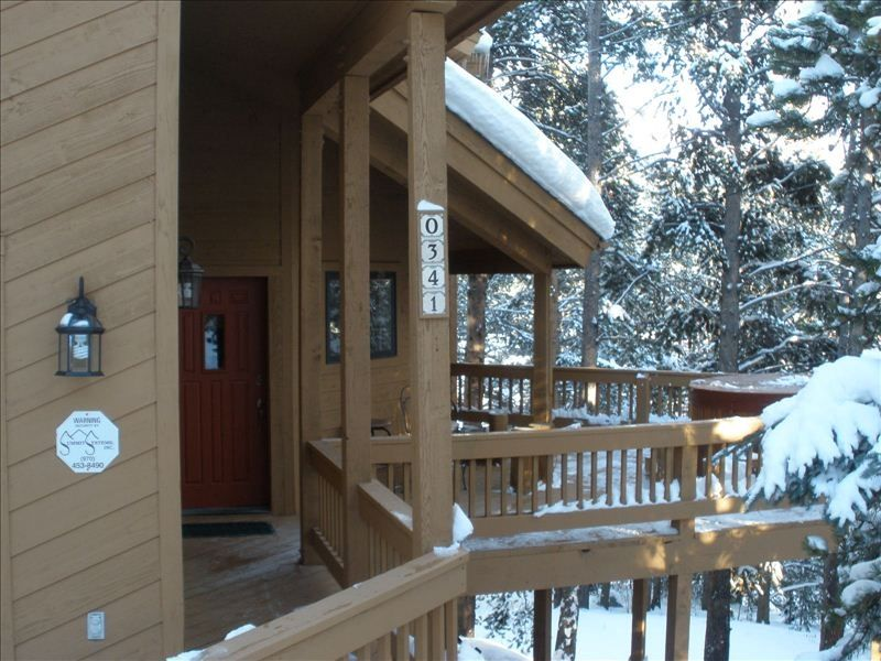Great ski fishing house 1 mile from breckenridge vrbo for Fish house skis