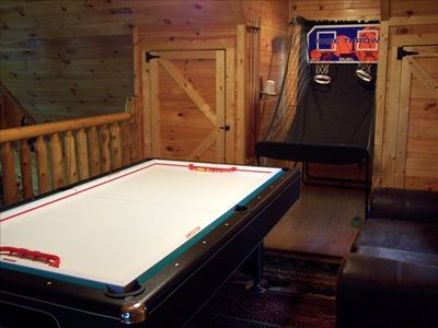 Air Hockey, Basketball Challenge, Ping Pong, Pool Table, Darts
