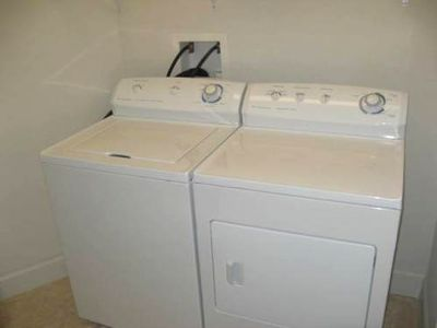 Full-Size Washer and Dryer in Unit