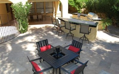 Outdoor Seating and Entertainment
