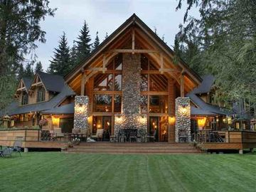 Priest Lake house rental - Luxury on the 4th green at Priest Lake golf resort