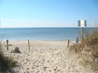 Oak Island cottage photo - Our beach access