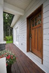 Victoria apartment photo - Your private entrance and deck.