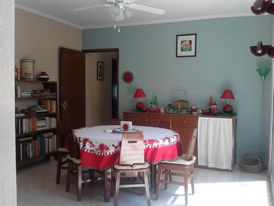 Our dining room for up to 6
