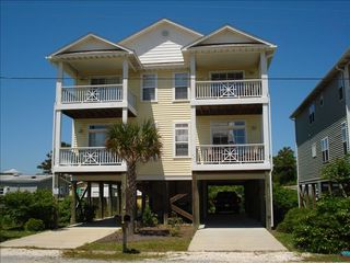 Carolina Beach condo photo - Exterior. Unit #2 is on the Right