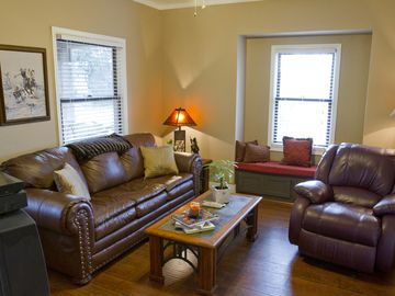 Lodi house rental - Family Room area