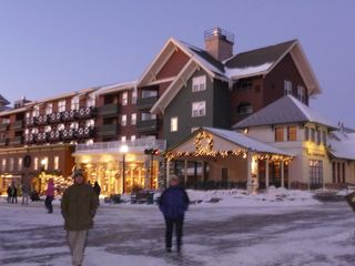 Snowshoe Mountain condo photo - Village at Dusk
