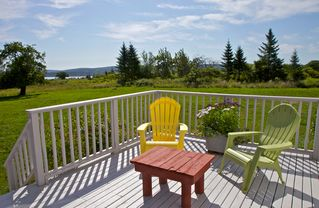 Annapolis Valley house photo - Bask in the sunshine and pristine surroundings on your private deck.