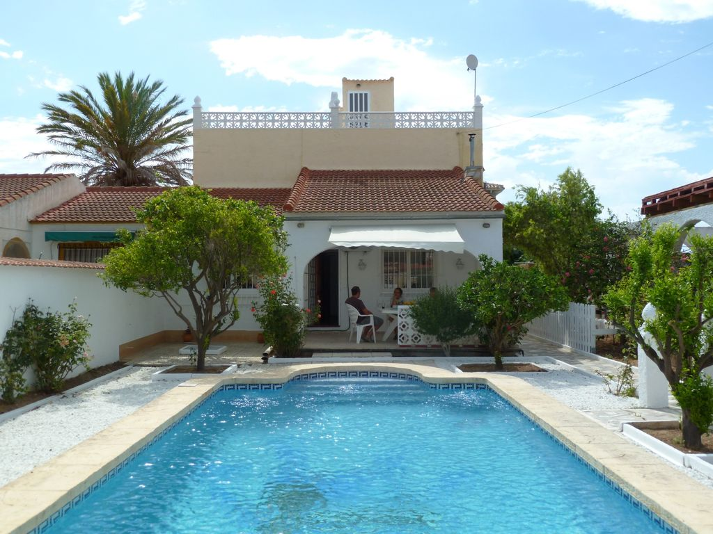 Spanish Villa With Own Private Pool In Los Balcones