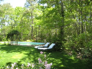 East Hampton house photo - outdoor oasis