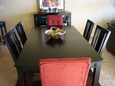 Gulfport condo rental - Dining area