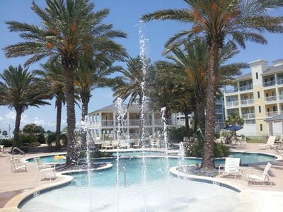 Galveston villa rental - Lazy River pool