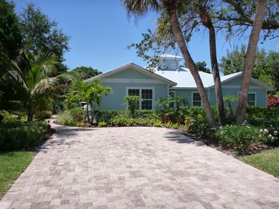 Beautiful new house steps from the beach! Tastefully decorated, private backyard