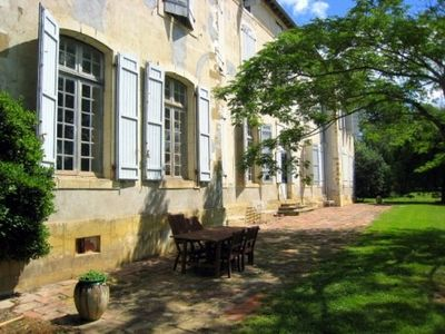 Castelnau Picampeau chateau / country house rental