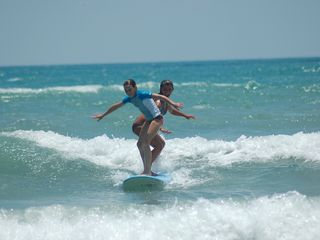 Cocoa Beach house photo - Tandem surfing