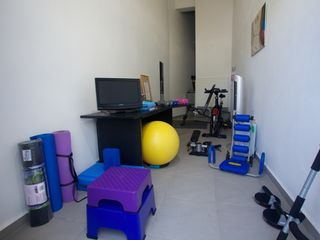 Rincon apartment photo - Home Gym adjacent to apartment, DVD's for Yoga, Pilate and Step