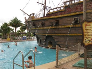 Lake Buena Vista condo photo - Pirate Ship water slide