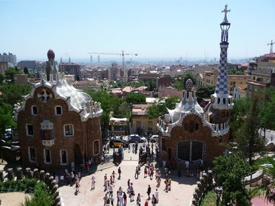 Gaudi Park is just close